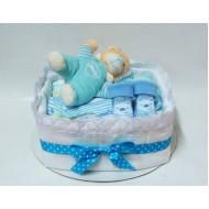 Торта от памперси Лека нощ