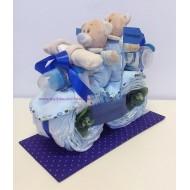 Мотор от памперси за близнаци