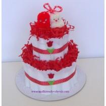 Торта от памперси Мартеница