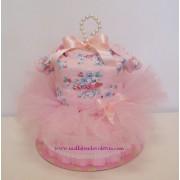 Торта от памперси Балерина