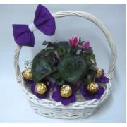 Букет от бонбони Пролетно настроение