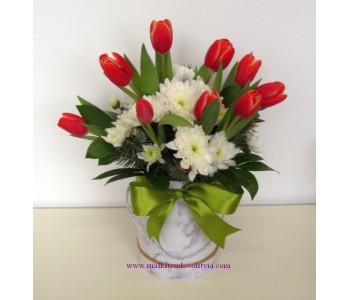 Букет от цветя Пролет