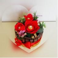 Торта от бонбони Мерси и Фереро II