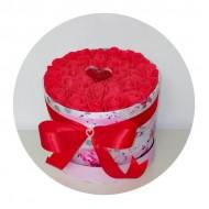 Подаръчна кутия Влюбени рози