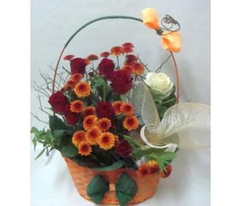 Кошница с цветя Балерина