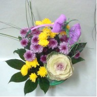 Кошница с цветя Опиянение