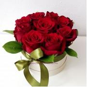 Букет с рози Усмивка