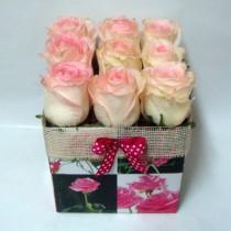 Цветя в кутия