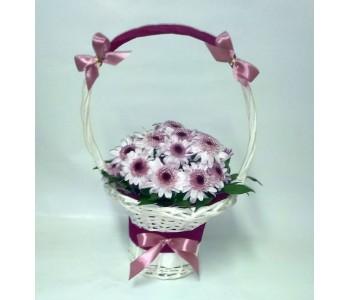 Кошница с цветя Хризантема
