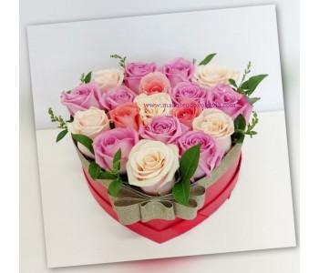 Букет от рози Свежест