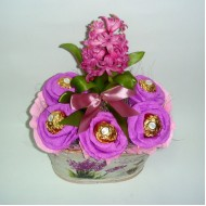 Подаръчна кошница Цветница