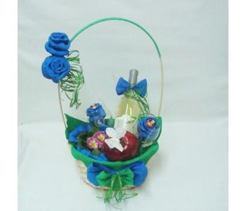 Подаръчна кошница Синьо лято