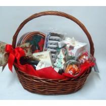 Подаръчна кошница Зимен ден