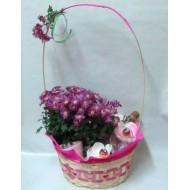 Подаръчна кошница Влюбени чаши