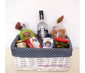 Подаръчна кошница Руски дух