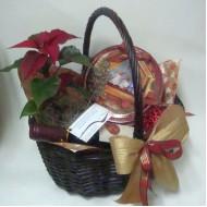 Подаръчна кошница Коледна звезда