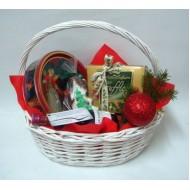 Подаръчна кошница Коледни усмивки