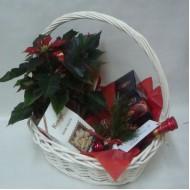 Подаръчна кошница Коледни трюфели