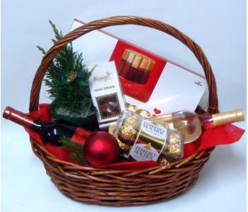 Подаръчна кошница Коледен дует