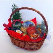 Подаръчна кошница Червена ябълка