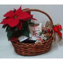 Подаръчна кошница Коледен дух