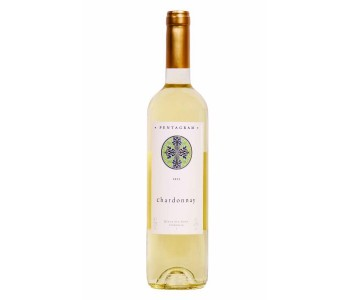 Бяло вино Шардоне Пентаграм 0,75 л. Поморие - 1 бр.