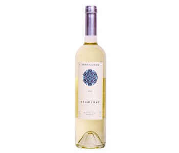 Бяло вино Траминер Пентаграм 0,75 л. Поморие - 1 бр.