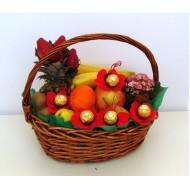 Кошница Плодове и шоколад